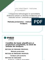 Prezentare Metoda Proiectului