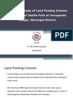 Development of Integrated Textile park at Warangal (Oorugonda) thru  Land Pooling PPt