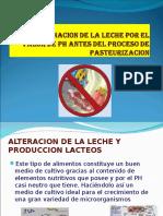 Contaminacion de La Leche Ph