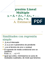 Regresion lineal multiple