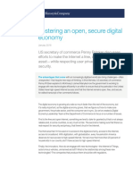 Open Secure Digital Economy