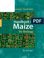 Handbook of Maize Its Biology