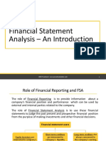 1FSA- An Introduction