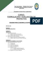Esquema de Proyecto Unprg 2014 Formulacion
