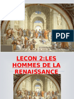 LES HOMMES DE LA RENAISSANCE