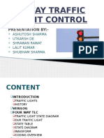 Four Way Traffic Light Conrol