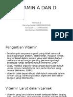 ppt vitamin A&D