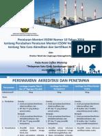 Presentasi Permen ESDM No. 10 Tahun 2016