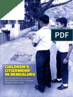 Children's Citizenship In Bengaluru