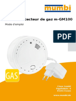 FR Mumbi Detecteur de Gaz Mode d Emploi M-GM100