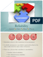 Assessment Reliability