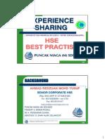 5-Experience Sharing - Winner of OSH Award 2011-2010 (Industries)