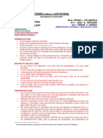 2015 Corporate Law Outline Annotated Gaw