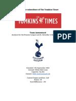 Scouting Report | Tottenham