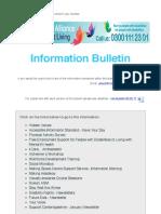 Information Bulletin - 08.02.17