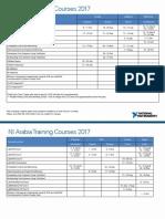 Arabia Trainings 2017