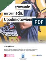 Engage. Inform. Empower. (Polish version)