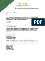 Aula1 e 2 - Noções de Aritmética