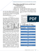 Behavior and Retrofitting of beam using FRP powder and FRP sheet