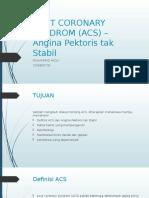 acutcoronarysyndromacs-160427100853