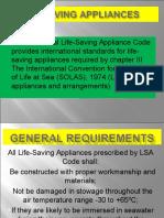 Life Saving Appliances