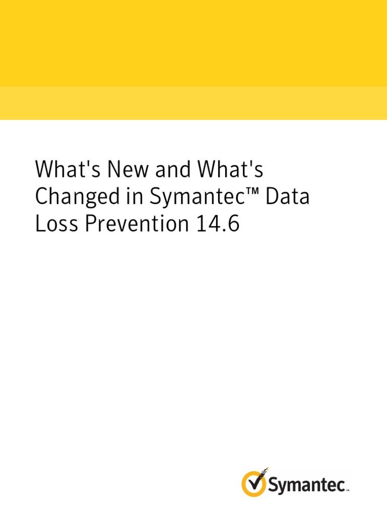 Symantec dlp 146 whats new cloud computing mac os pronofoot35fo Choice Image