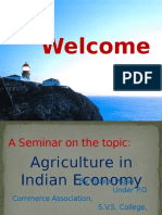 agricultureinindianeconomy-130911050909-phpapp02