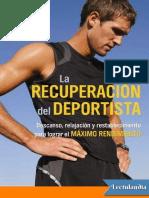 La recuperacion del deportista - Sage Rountree.pdf