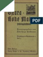Hoffmann, Fritz Hugo; Ostara - Hohe Maien; Fest und Brauch im Jahreslauf, Heft 3, 1936,.pdf