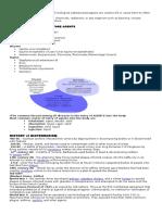 Bioterrorism Notes