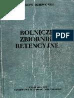 Rolnicze Zbiorniki Retencyjne - Dziewonski