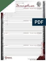 Fdp Disciplines