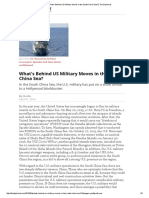 [2016!04!01 Diplomat] Hu Bo - What's Behind US Military Moves in the South China Sea