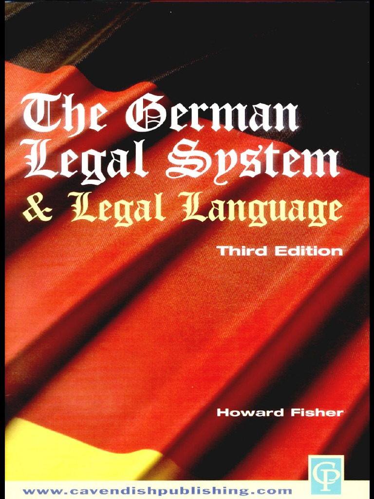 The German Legal System | Comparative Law | Crime & Justice