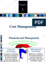 1. Introduction to Cost Management