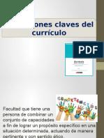 Conceptos clave del currículo