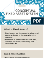 The Conceptual Fixed Asset System