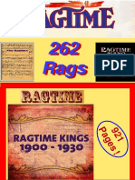 262 Classic Piano Rags - Various Composers