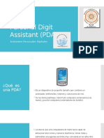 Personal Digit Assistant (PDA)