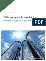 100 Percent Renewable Electricity