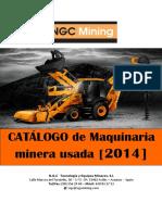 Exportación de Maquinaria Usada de Minería a Marruecos. Catálogo