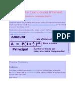 Calculate Compound Interest