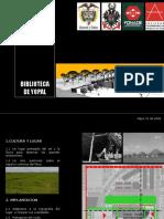 Presentación Biblioteca Publica Yopal