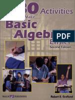 80 Activities to Make Algebra Easier