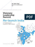 IIMB PGPEM Visionary Leadership Summit