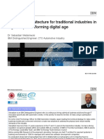 Enterprise Architecture for Traditional Industries in a Globally Transforming Digital Age
