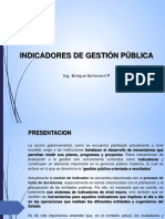 Indicadores de Gestion Publica