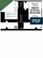 Direito Municipal Brasileiro_16ª Edição_Hely Lopes Meirelles.pdf