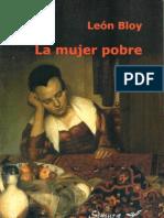 La mujer pobre. Novela de Léon Bloy. Traducción, prólogo y notas de Carlos Cámara y Miguel Ángel Frontán.