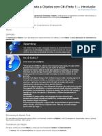 Sinergia - Programação Orientada a Objetos Com C# - Introdução